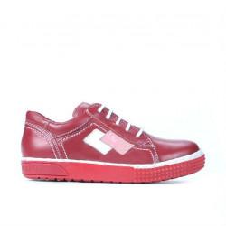 Pantofi copii mici 57c rosu