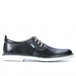 Men casual shoes (large size) 7201m black