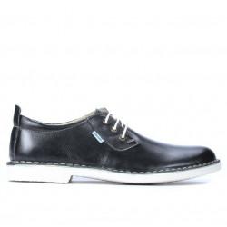 Pantofi casual barbati (marimi mari) 7201m negru