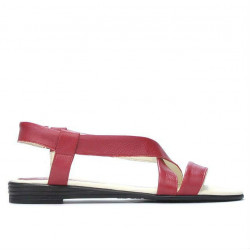 Women sandals 5010 red