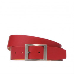 Women belt 02m red