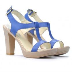 Women sandals 5018 bleu