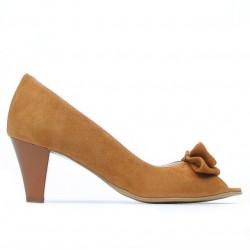 Women sandals 1255 camel antilopa