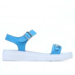 Women sandals 5033 blue