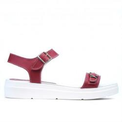 Women sandals 5033 red