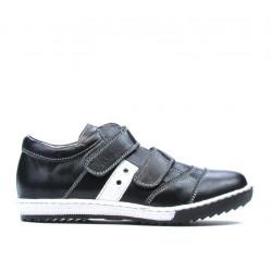 Pantofi copii 134 negru+alb