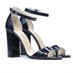 Women sandals 1259 patent indigo