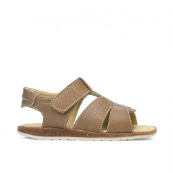 Small children sandals 54c brown