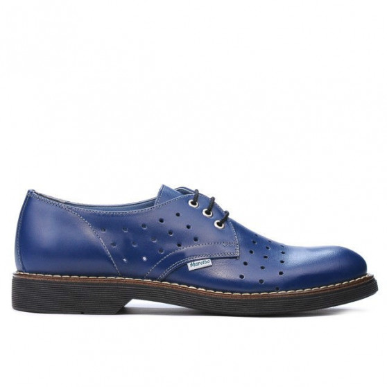 Men casual shoes 836 indigo