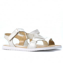 Sandale dama 5039 bej sidef