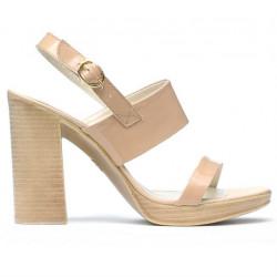 Sandale dama 5028 lac nude