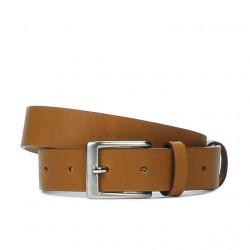 Children belt 01cl brown deschis
