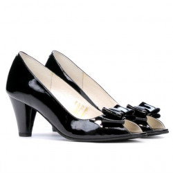 Sandale dama 1255 lac negru