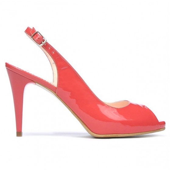 Sandale dama 1250 lac rosu corai