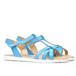Women sandals 5038 blue