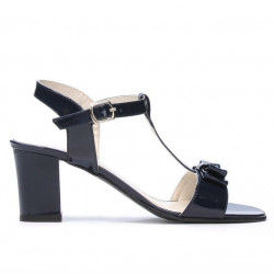 Women sandals 1257 patent indigo