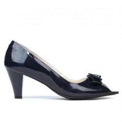 Women sandals 1255 patent indigo