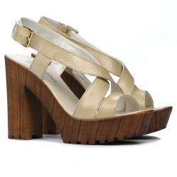 Women sandals 5030 beige