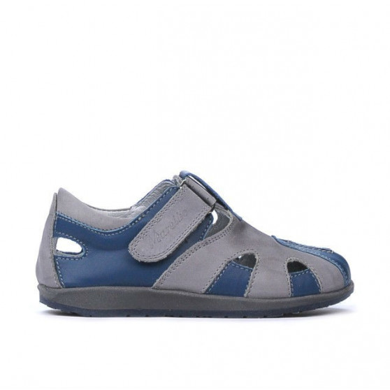 Small children shoes 07c indigo+gray