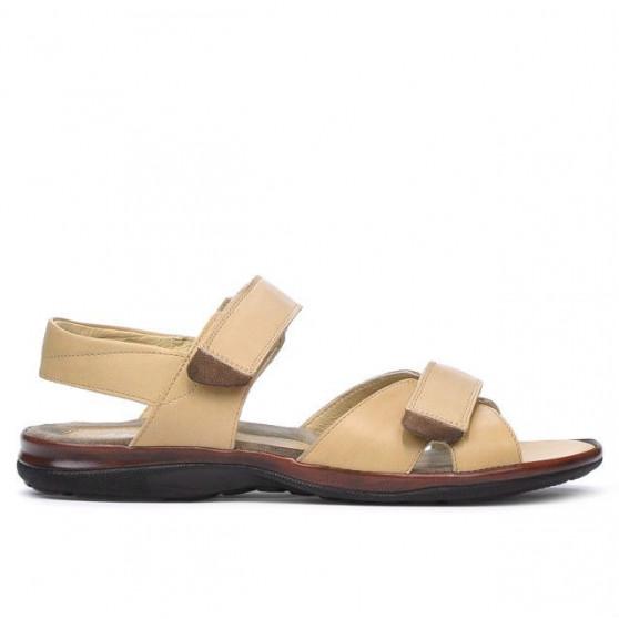 Men sandals 316 beige