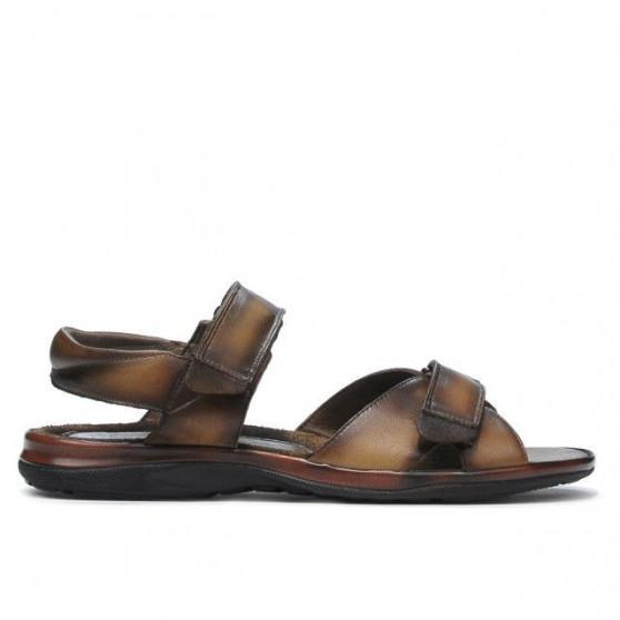 Men sandals 316 brown