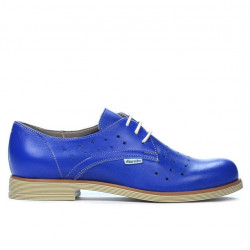 Women casual shoes 678 blue electric