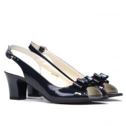 Women sandals 1251 patent indigo