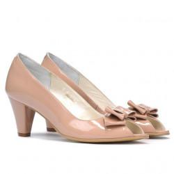 Sandale dama 1255 lac nude