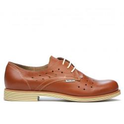 Pantofi casual dama 678 maro