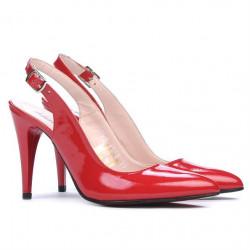 Sandale dama 1249 lac rosu