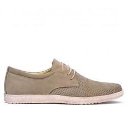 Pantofi casual barbati 835p bufo nisip