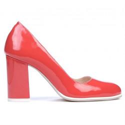 Pantofi eleganti/casual dama 1254 lac rosu corai