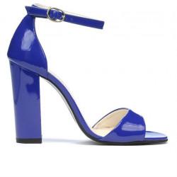 Sandale dama 1259 lac albastru