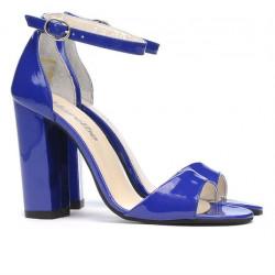Women sandals 1259 patent blue
