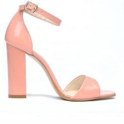 Women sandals 1259 patent pink