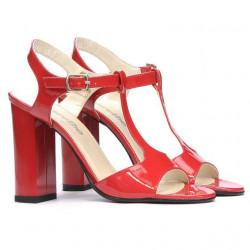 Sandale dama 1258 lac rosu