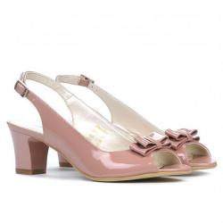 Women sandals 1251 patent pink pal