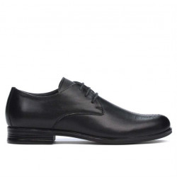 Pantofi eleganti adolescenti 398 negru