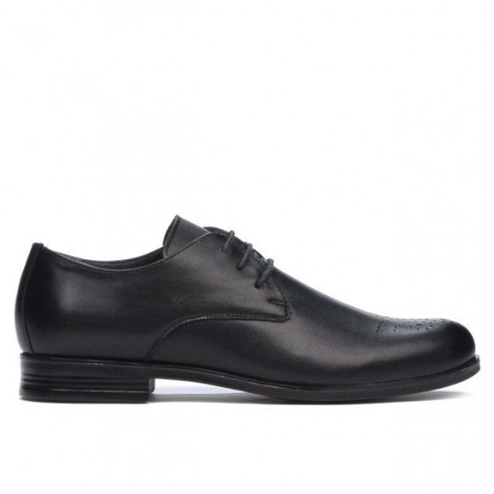 Teenagers stylish, elegant shoes 398 black