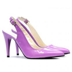 Women sandals 1249 patent purple