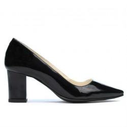 Women stylish, elegant shoes 1253 patent black