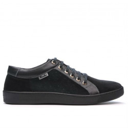 Pantofi casual/sport barbati 841 black combined