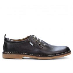 Men casual shoes 7201-1 cafe