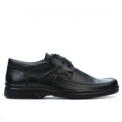 Men stylish, elegant shoes (large size) 880m black
