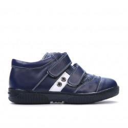 Pantofi copii 134-1 indigo+alb