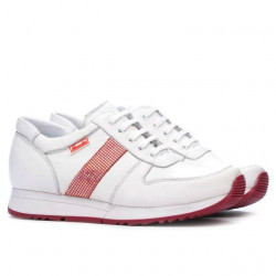 Women sport shoes 679 white+red