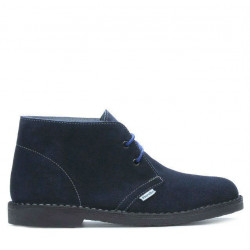 Women boots 7100-1 indigo velour