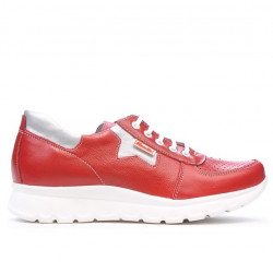 Women sport shoes 680 red combined