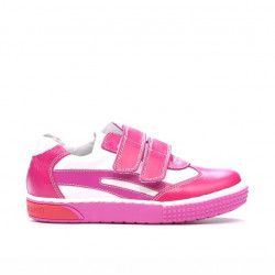 Small children shoes 16-1c pink+white