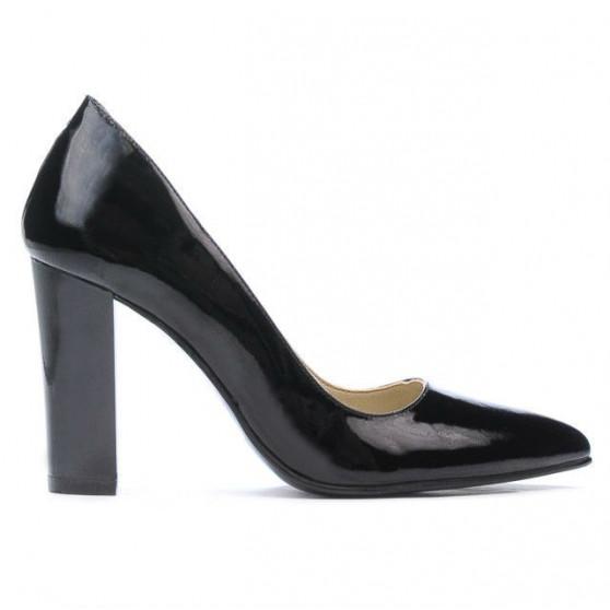 Women stylish, elegant shoes 1261 patent black
